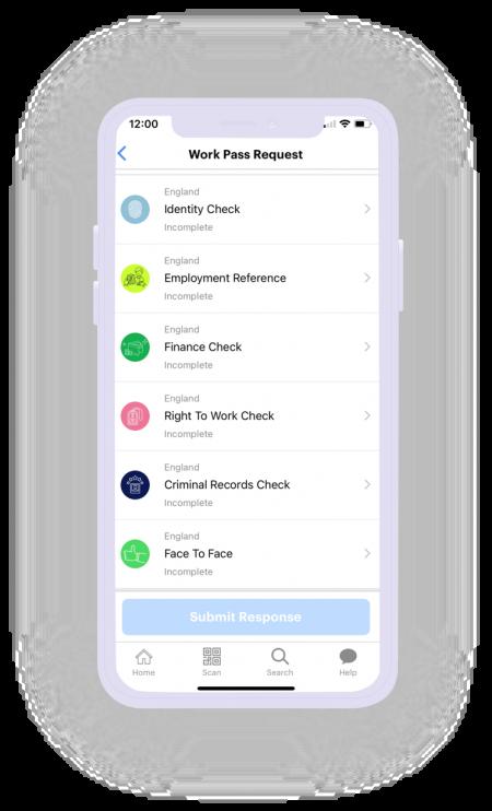 APPII - Mobile App - Work Pass Checks - Shadow